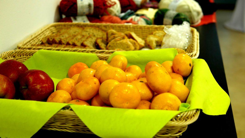 Yarncamp Obst, Brot und Wolle