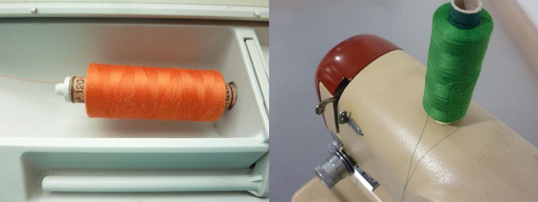 Einfädeln deiner Nähmaschine -Bild3