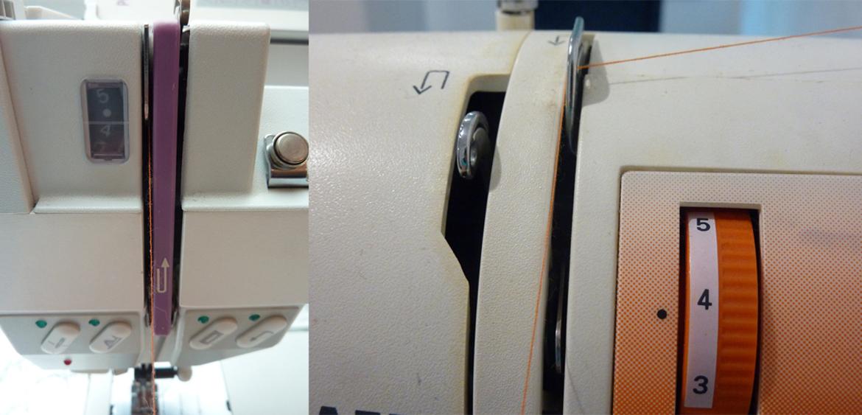 Einfädeln deiner Nähmaschine - Bild5
