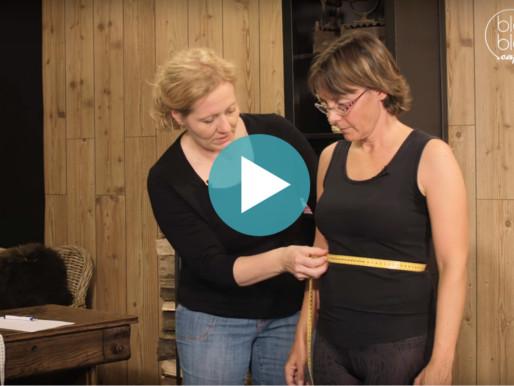 Britta nimmt Maß – Vermessung des Oberkörpers
