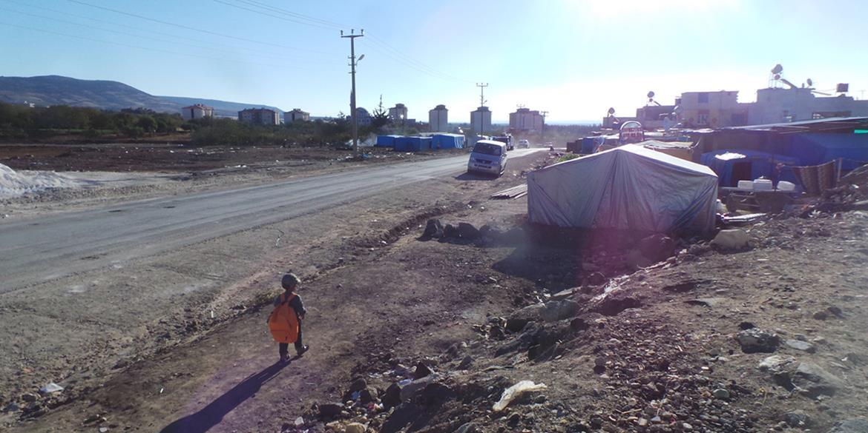 Spendahilfe - Fluechtlingslager