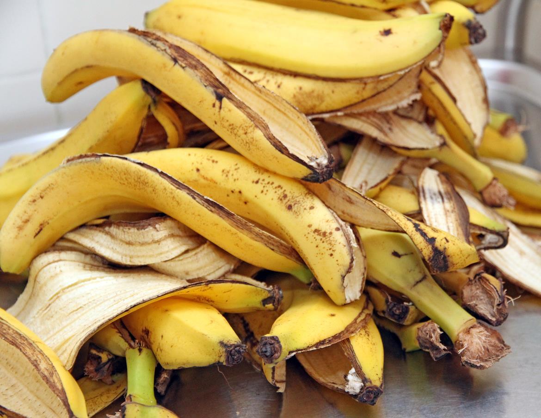 Upcyling - Bananenschalen