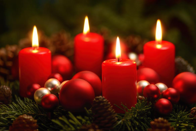 Warum feiern wir eigentlich Weihnachten - Adventskranz