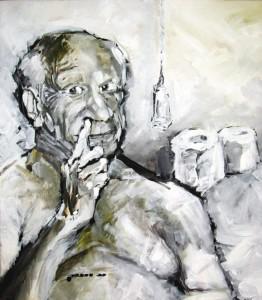 Mit Picasso auf dem Klo – Portrait von Nikolaus Pessler
