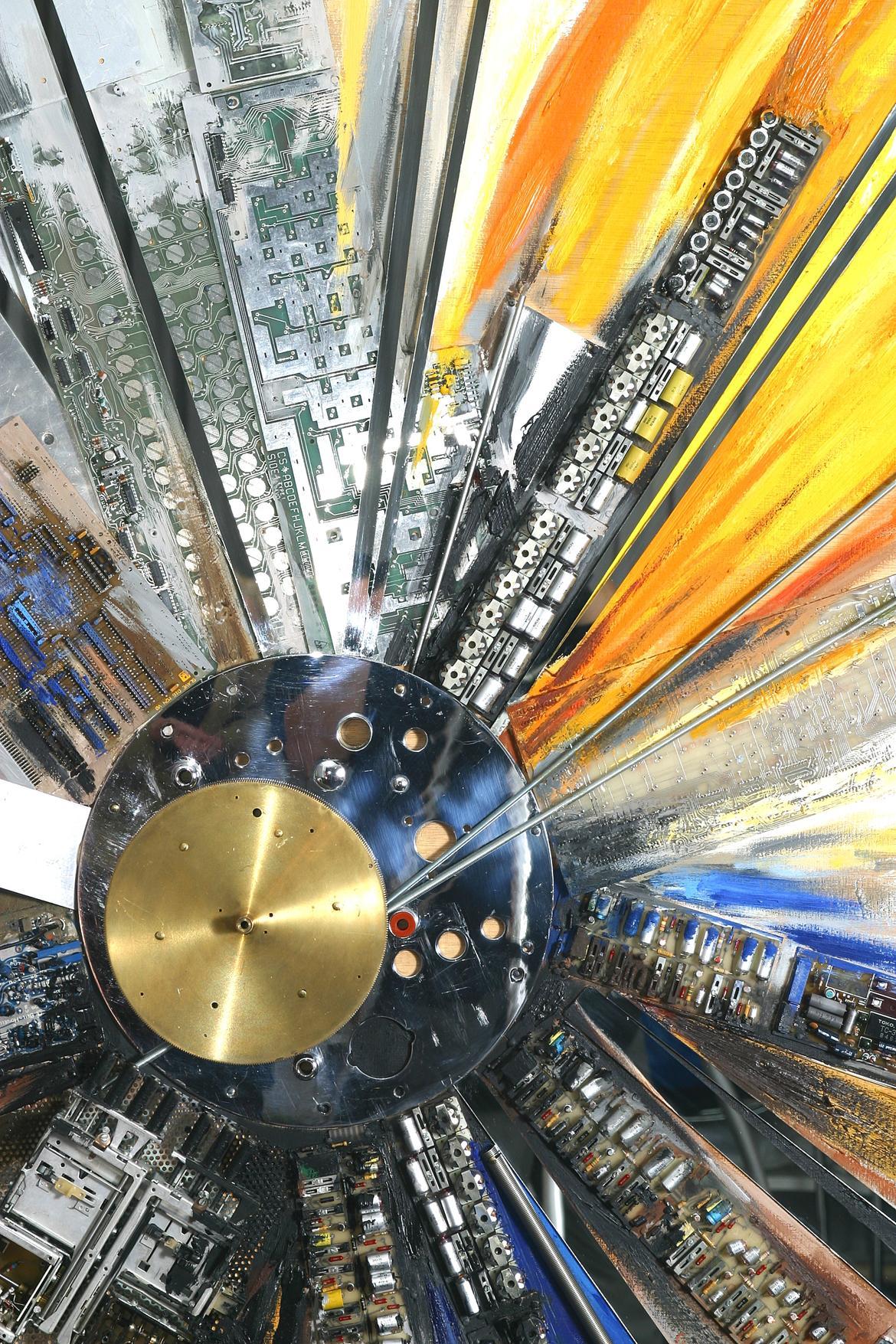 Computersonne – Assemblage von Ilona Jentsch