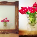 Geprüft auf Nadel und Faden – Vielen Dank für die Blumen
