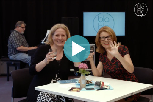Modeatelier Inge Szoltysik zu Gast im blabla.cafe