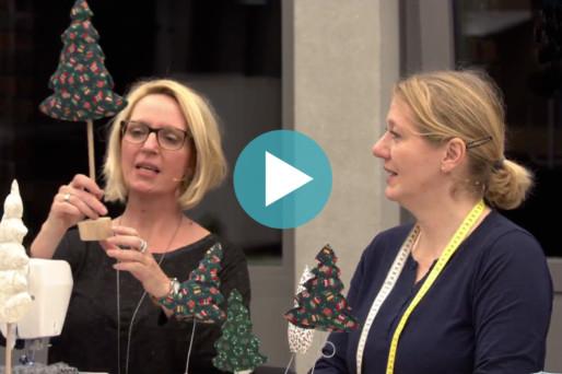 oh NÄH! – Engelkissen, Tannenbäume, festliche Kleidung – kurz: Weihnachtliches Nähen (Aufzeichnung vom 15.12.2017)