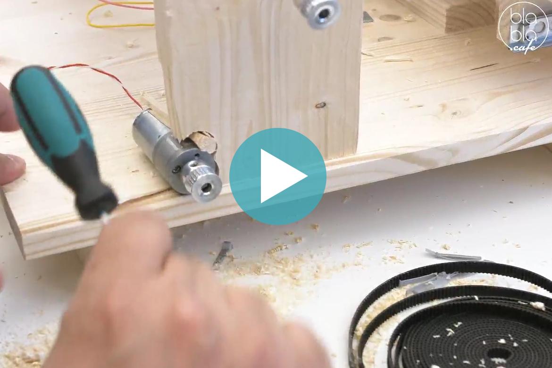 Löten mit Idiöten – Bau einer Webmaschine (4):  Mechanik für Kettbaum & Warenbaum (Aufz. vom 17.05.2018)