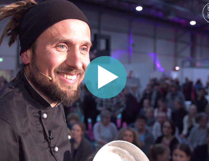 Vegan backen mit Björn Moschinski auf der CAKE DREAMS 2018