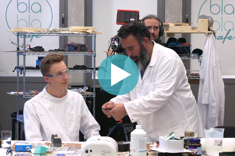 Löten mit Idiöten – Bau einer Webmaschine (6): Motorsteuerungsplatine ätzen (Aufz. v. 05.07.2018)