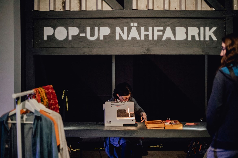 Pop-up Nähfabrik