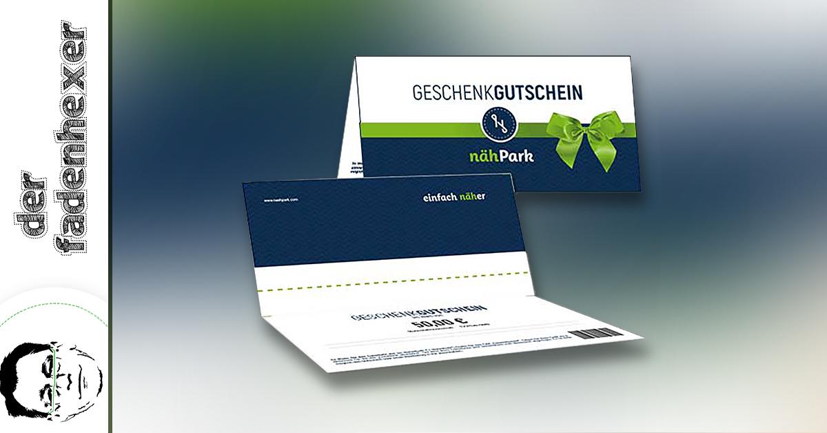 Nähpark-Gutschein