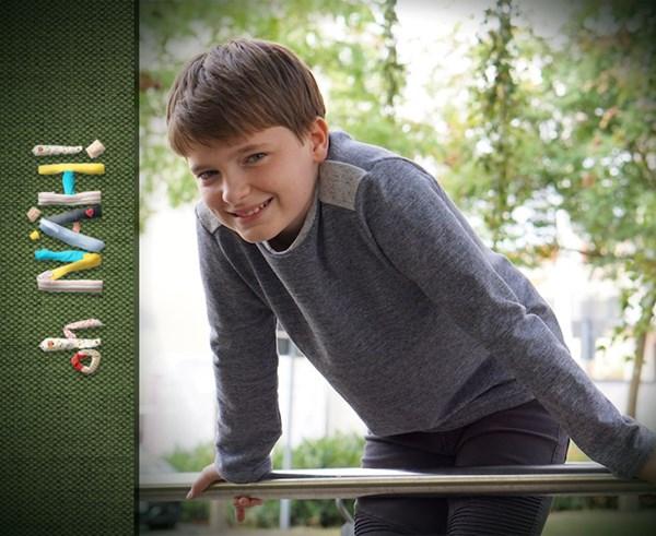 Live in der Sendung zu gewinnen: exklusives Schnittmuster für einen Kinderpulli aus dem Pattarina-Starterset
