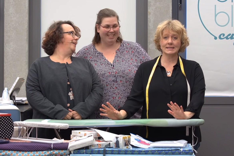 Kirsten, Danny & Britta in der Sendung vom 13.09.2019