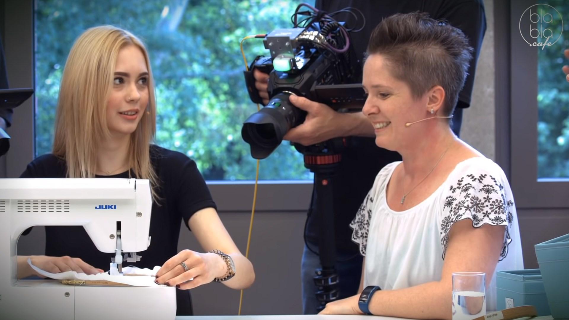 oh-NÄH!-Sendung vom 15.06.2019: Näh-Malen mit Christine Küchel