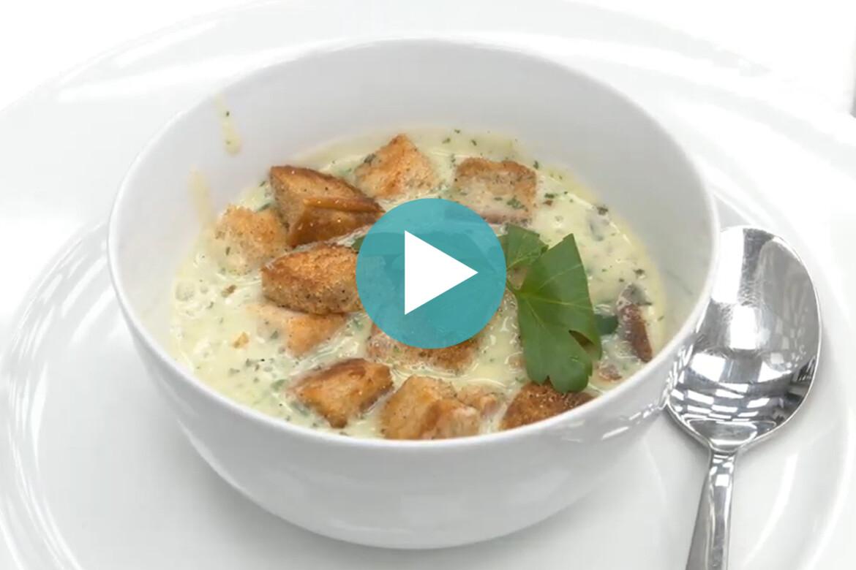 Küchenkarussell – Knoblauchsuppe mit Knoblauch-Croutons (Aufz. v. 17.11.2020)