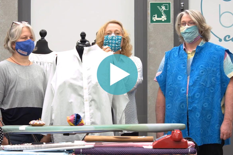 oh NÄH! – Upcycling: Herrenhemd & Bluse (Sendung am 13.11.2020)